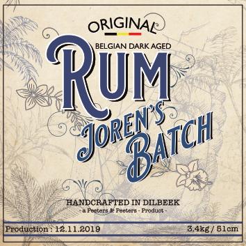 MADI Premium Rum White Personalized Label