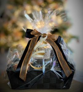 Giftbox 1 Fles Gold Edition met Glas