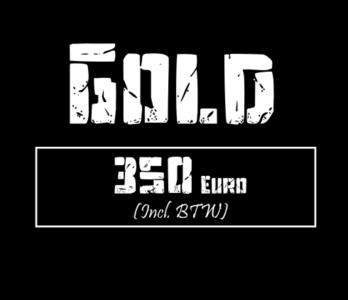 Mobile Bar - Gold